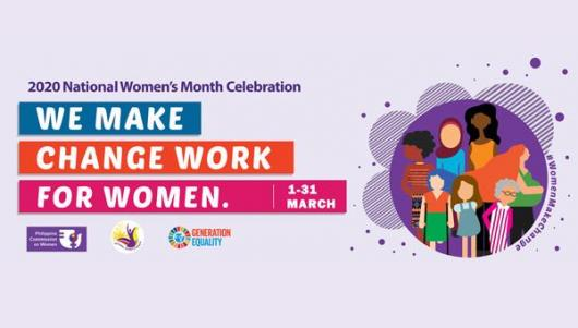 2020 National Women's Month Celebration