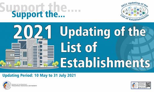 2020 Updating of the List of Establishments
